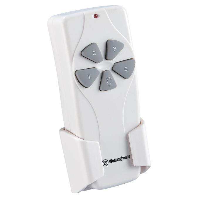 Westinghouse Ceiling Fan And Light Remote Control White