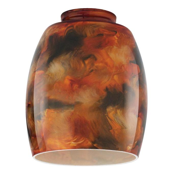 Westinghouse Handblown Fire Pit Glass Shade