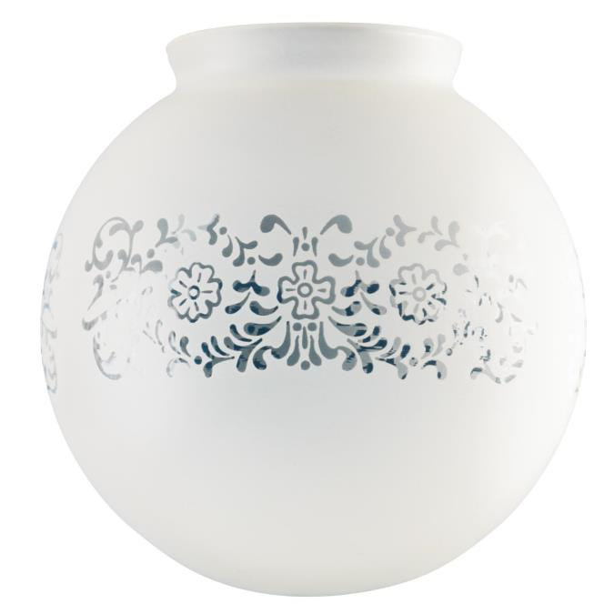 Westinghouse Handblown Frosted Victorian Glass Globe